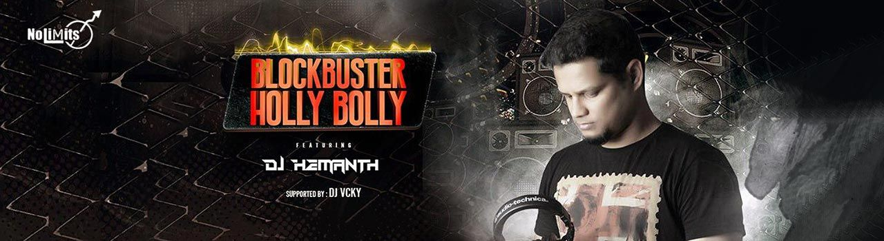 Blockbuster Holly Bolly in No Limmits Lounge and Club: Bengaluru