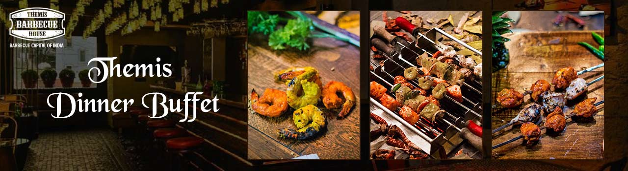 Themis Dinner Buffet  in Themis Barbecue House: Delhi
