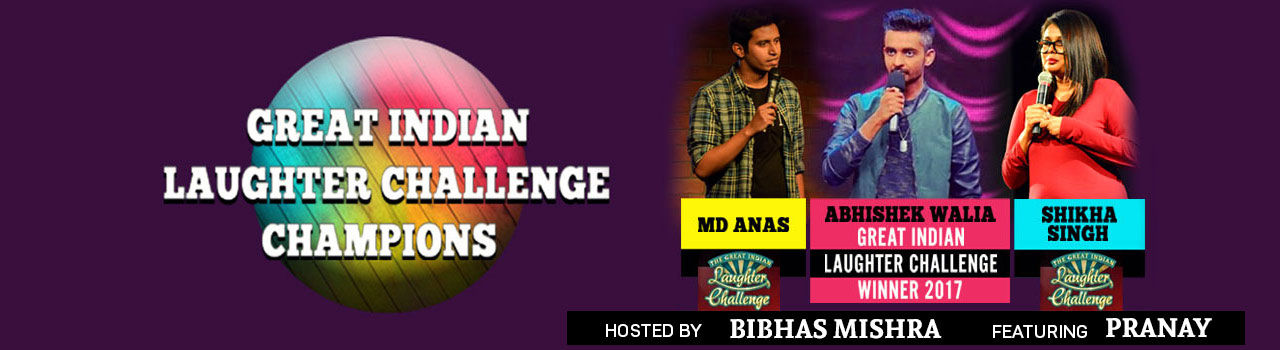 Patna Komedians Feat Great Indian Laughter Challenge Champions in Yo! China: Patna