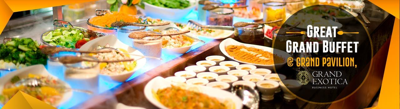 Great Grand Buffet @Grand Pavilion, Grand Exotica  in Grand Pavilion, Grand Exotica Business Hotel: Pune