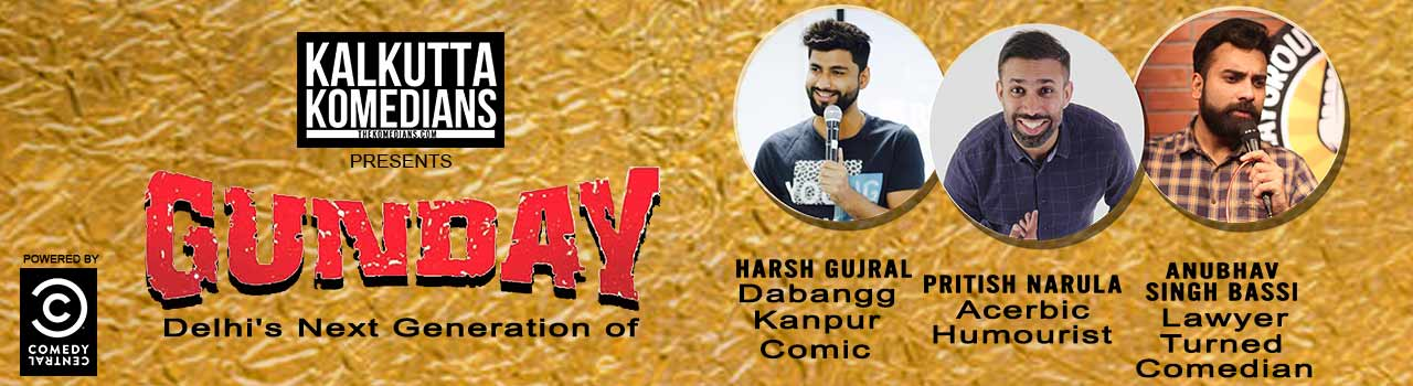 Gunday: Delhi's Next Generation of Comedy Stars in The Doodle Room: Kolkata