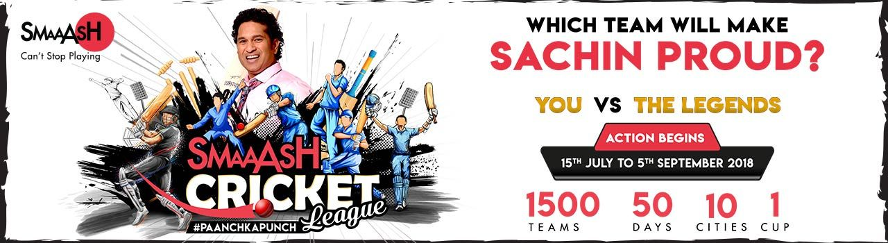 Smaash Corporate Cricket League (Phoenix)  in Smaaash, Phoenix Market City: Bengaluru