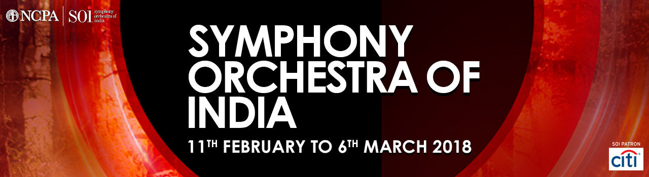 Symphony Orchestra of India (SOI) Spring 2018 Season