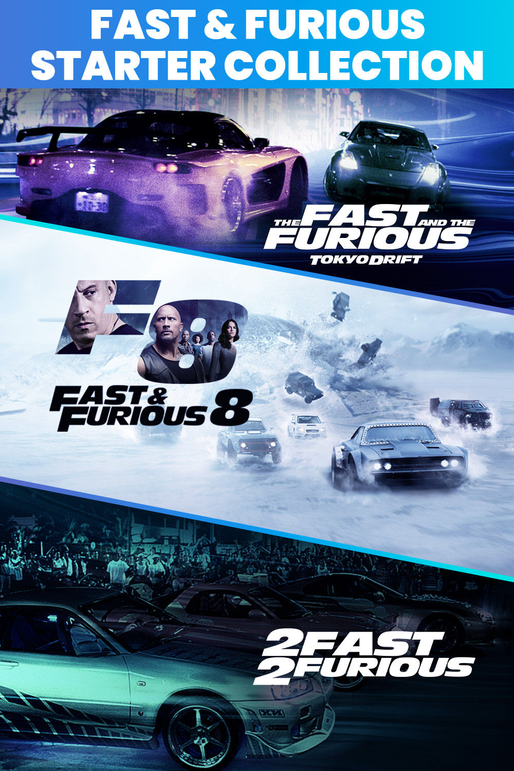 Fast & Furious Starter Collection