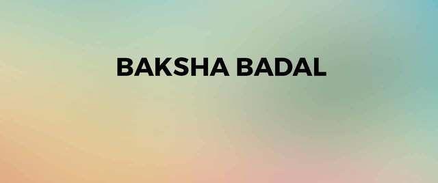 Baksha Badal