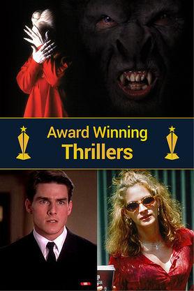 Award Winning thrillers