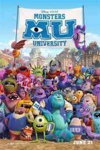 Monsters University 3D (English)