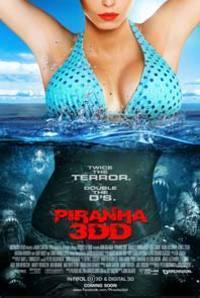 Piranha 3DD (2D) English