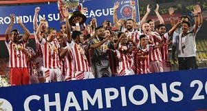 Atletico De Kolkata- Champions of Indian Super League 2016.