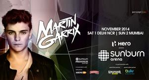 Get Ready for Sunburn Arena with Martin Garrix, This November