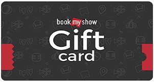 BookMyShow Gift Cards: Defining Moments, Spreading Happiness!