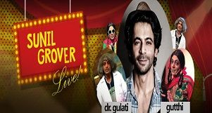 Sunil Grover Live: A laughter riot away from TV Screens!