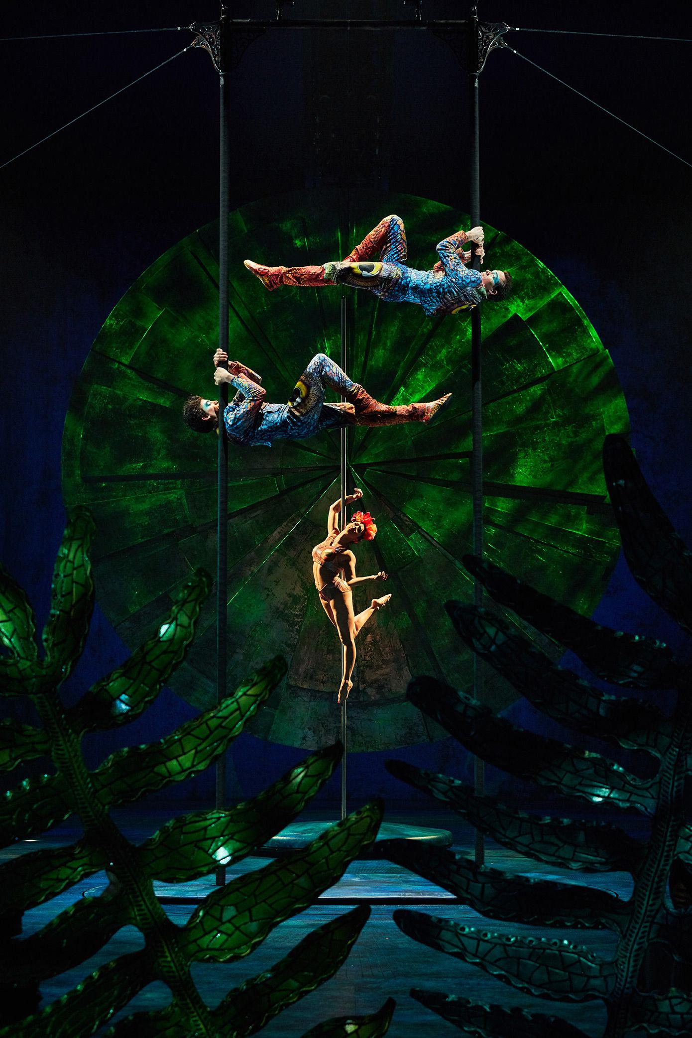 Cirque Du Soleil Pole Act