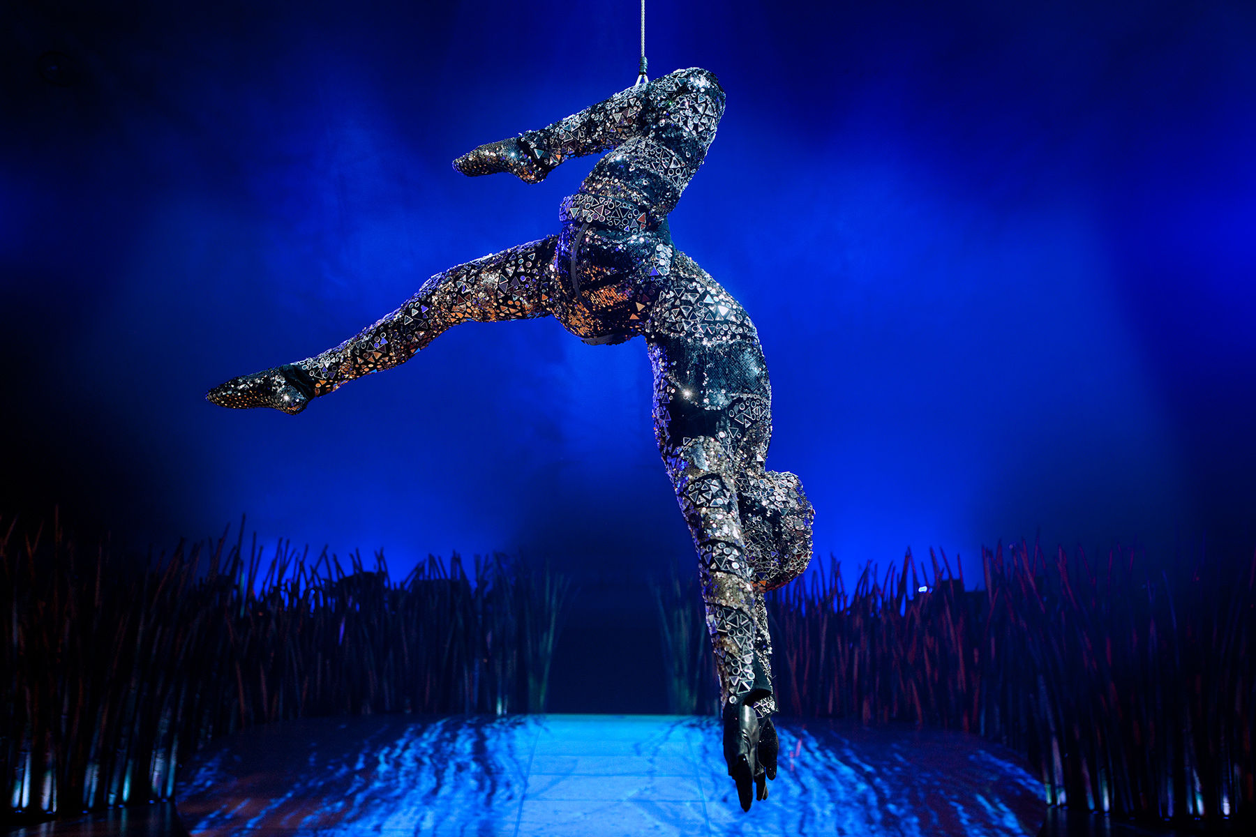 Cirque Du Soleil - Crystal Man Act