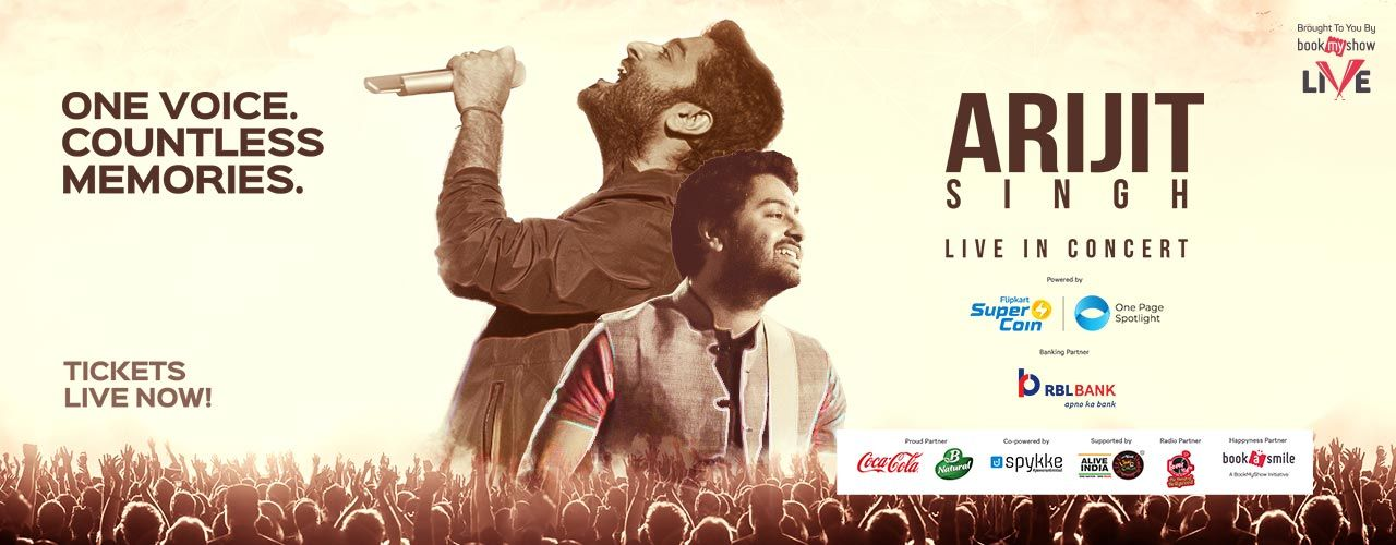 Arijit Singh Live In Concert Bengaluru