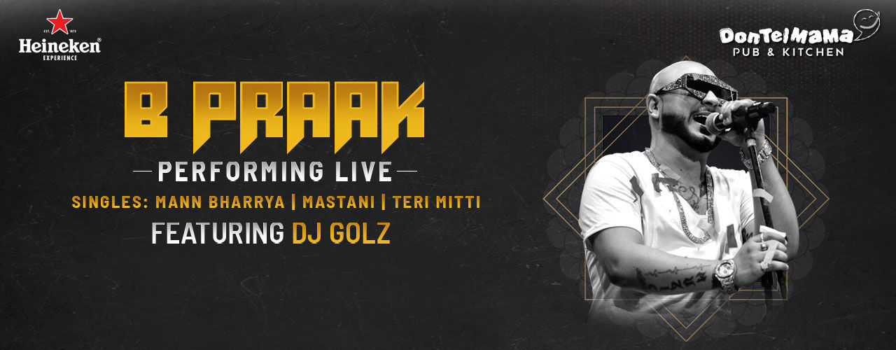 B Praak Live In Delhi music-shows Event Tickets National Capital Region  (NCR) - BookMyShow