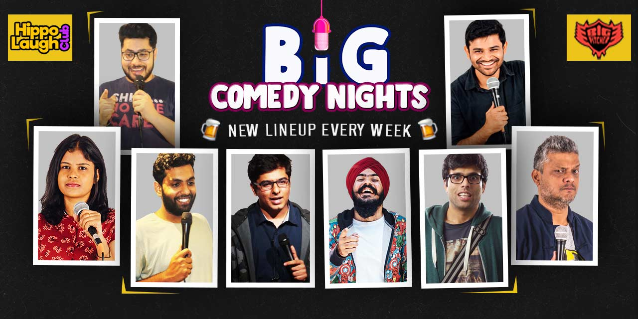Big Comedy Nights at Big Pitcher Pub