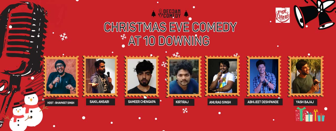 Christmas Comedy Show at Free Flow