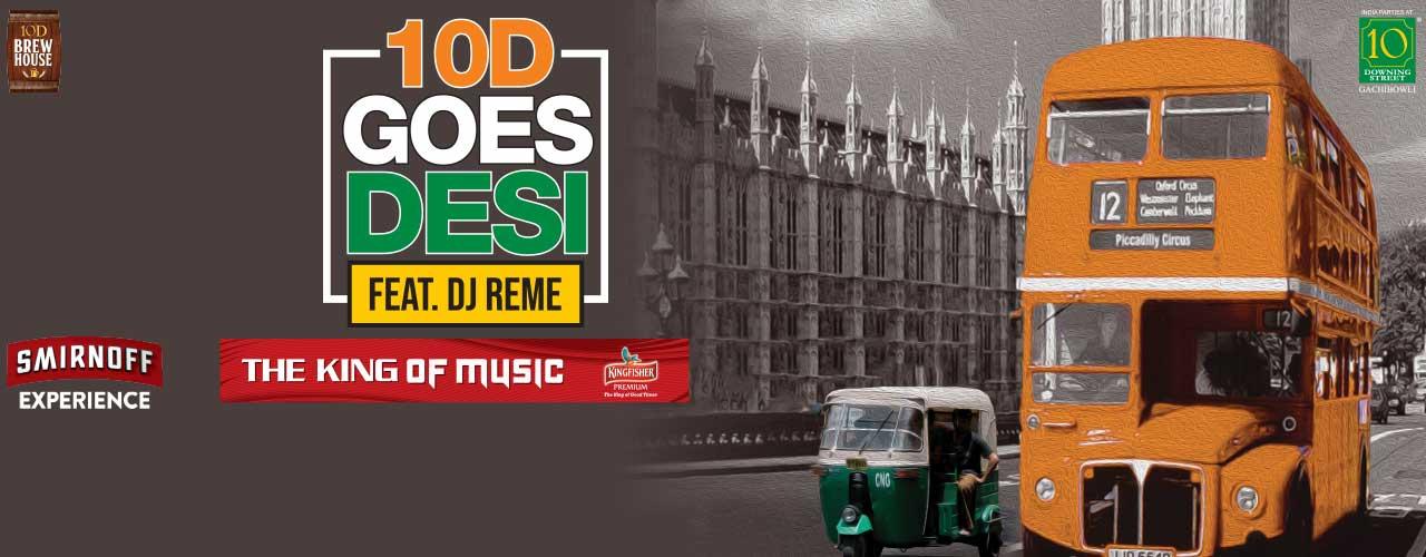 Godesi Night at 10D | nightlife Tickets Hyderabad - BookMyShow