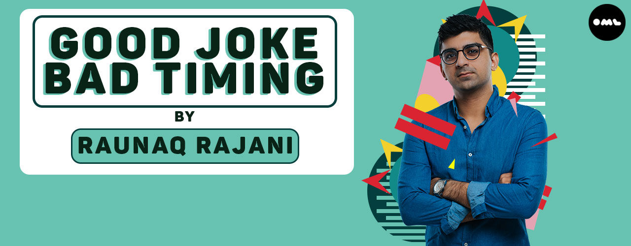 Good Joke  Bad Timing  comedy-shows Event Tickets Pune - BookMyShow