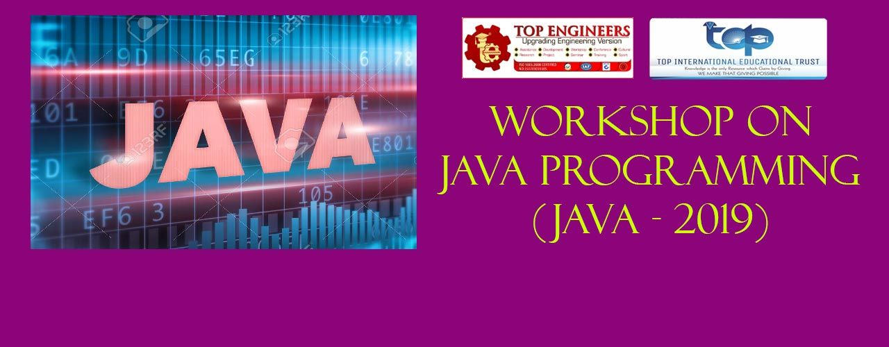 Java Programming Workshop Powered By Top Engineers Workshops