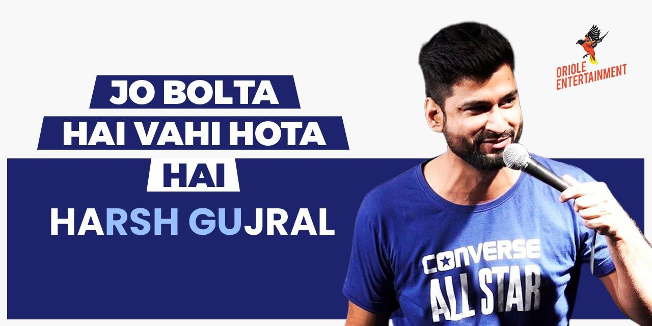 Jo Bolta Hai Wohi Hota Hai feat Harsh Gujral | Hyderabad