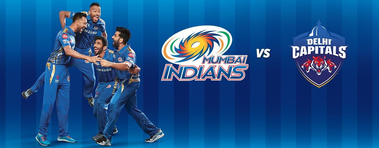 MI vs DC Tickets | Mumbai Indians vs Delhi Capitals Match - BookMyShow