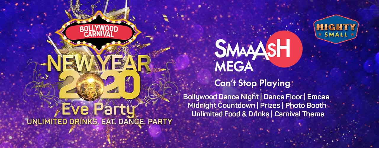 New Year's Eve 2020 Party at Smaaash Kamala Mills
