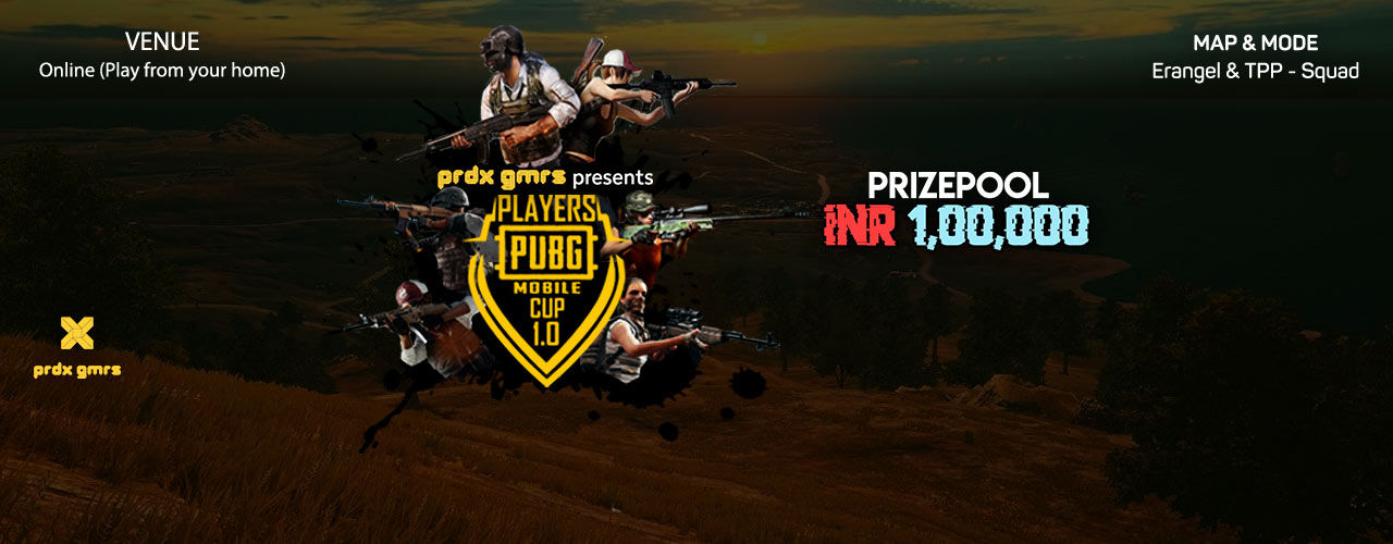 Players Pubg Mobile Cup - 1 0 - E-sports - Bookmyshow