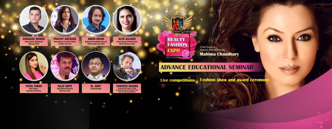 Rise Up Beauty And Fashion Expo Exhibitions Hyderabad