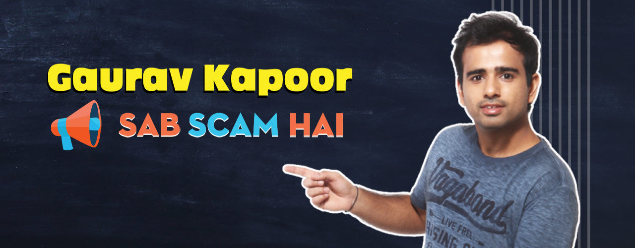 Sab Scam hai-Standup Comedy by Gaurav - Pune