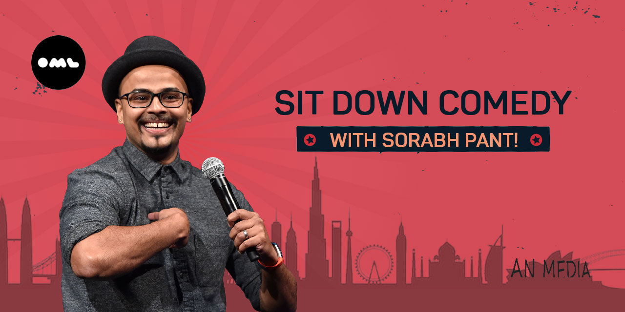 Sit Down Comedy with Sorabh Pant