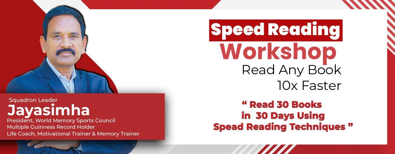 Speed Reading Workshop Online Workshops Online Streaming Events Hyderabad Bookmyshow