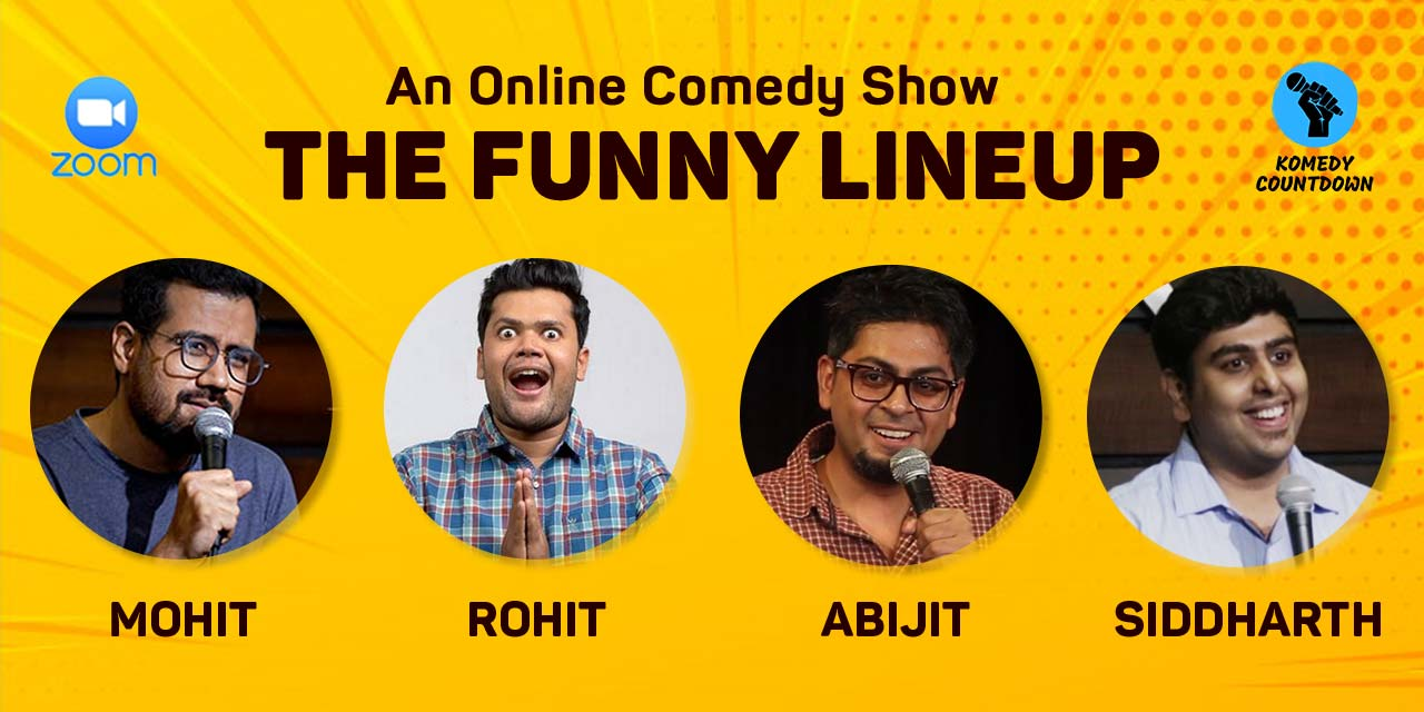 The Funny Lineup – An Online Comedy Show