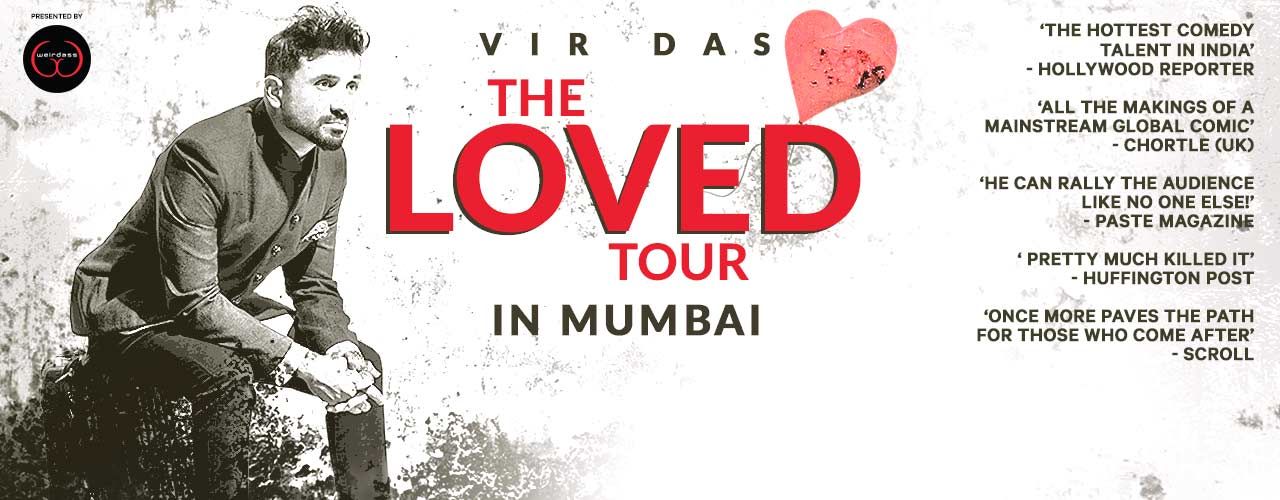 The Loved Tour By Vir Das Comedy-shows Mumbai - Bookmyshow