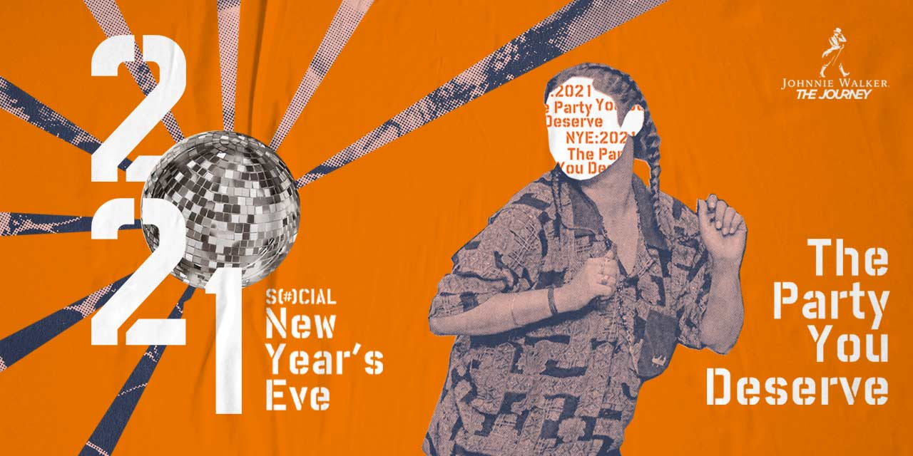 The Party you Deserve: Social NYE 2021 Party