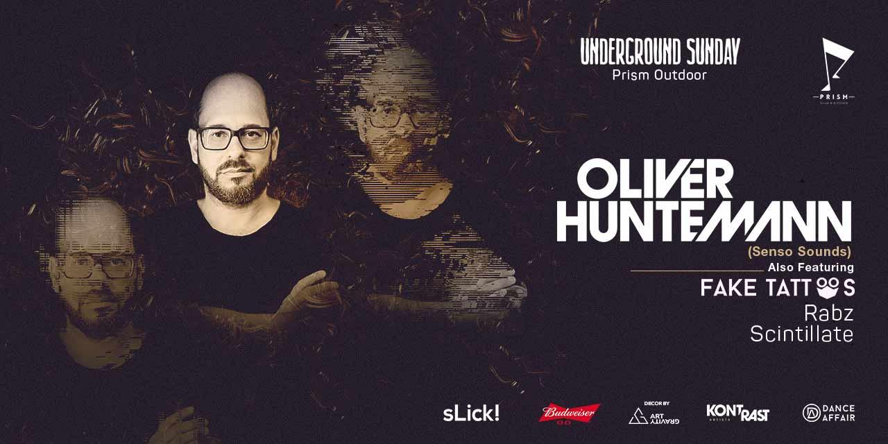 Underground Sunday w/ Oliver Huntemann @ Outdoor