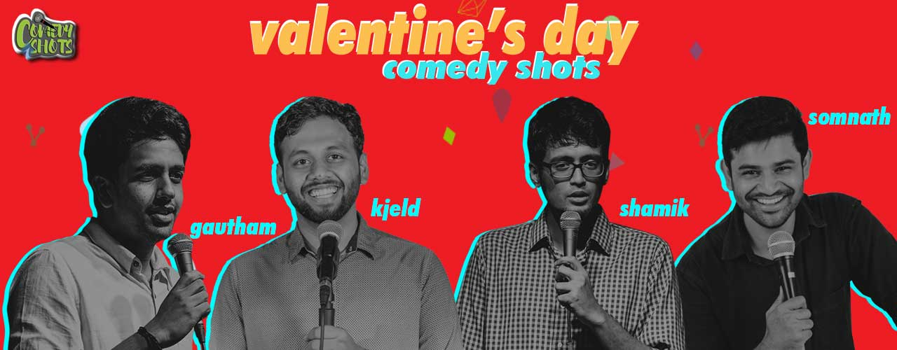 Valentine`s Day Comedy Shots