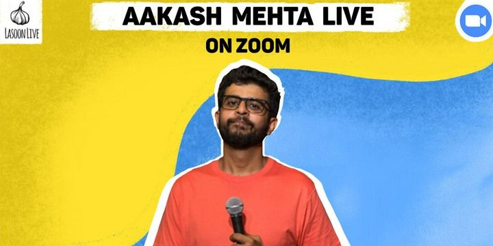 Aakash Mehta Live on Zoom