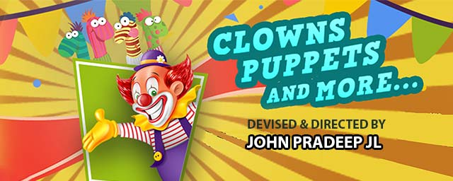 Clowns Puppets And More performances Event Tickets Coimbatore - BookMyShow