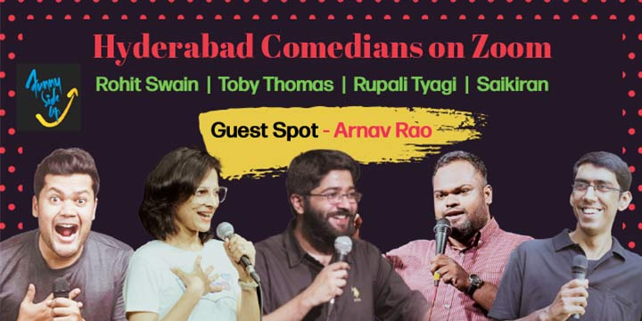 Hyderabad Comedians on Zoom