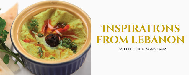 Inspirations from Lebanon At Sofitel   food-and-drinks Tickets Mumbai -  BookMyShow
