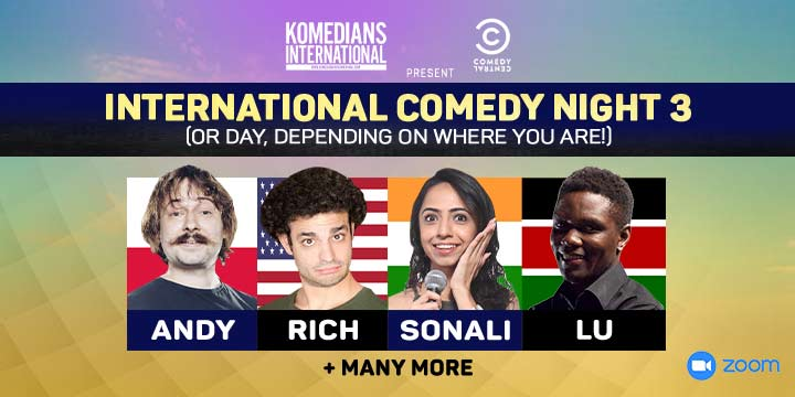 International Comedy Night 3
