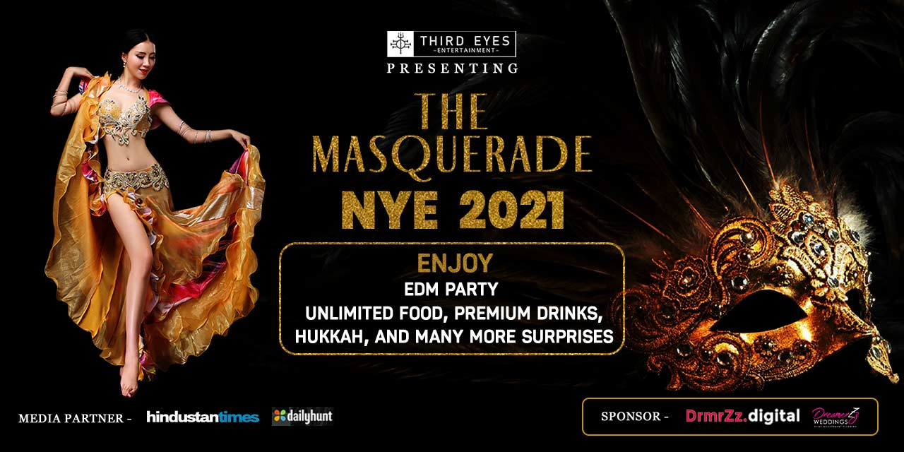 The Masquerade New Year Eve 12- Kaka Palace  nye-parties