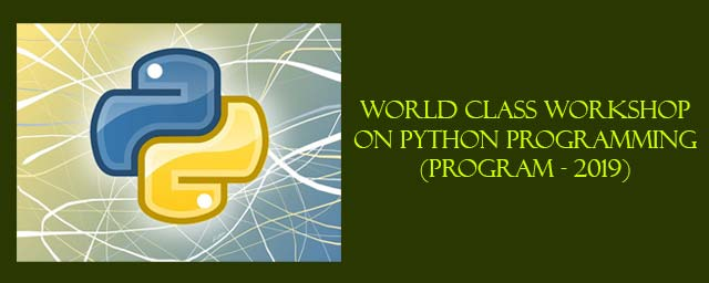 World Class Workshop On Python Programming workshops Chennai