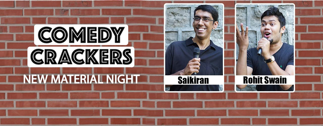 Comedy Crackers - New Material Night