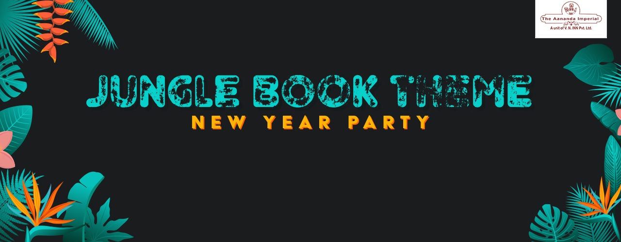 jungle book theme new year party