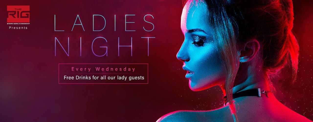 ladies night the rig event tickets bang bookmyshow