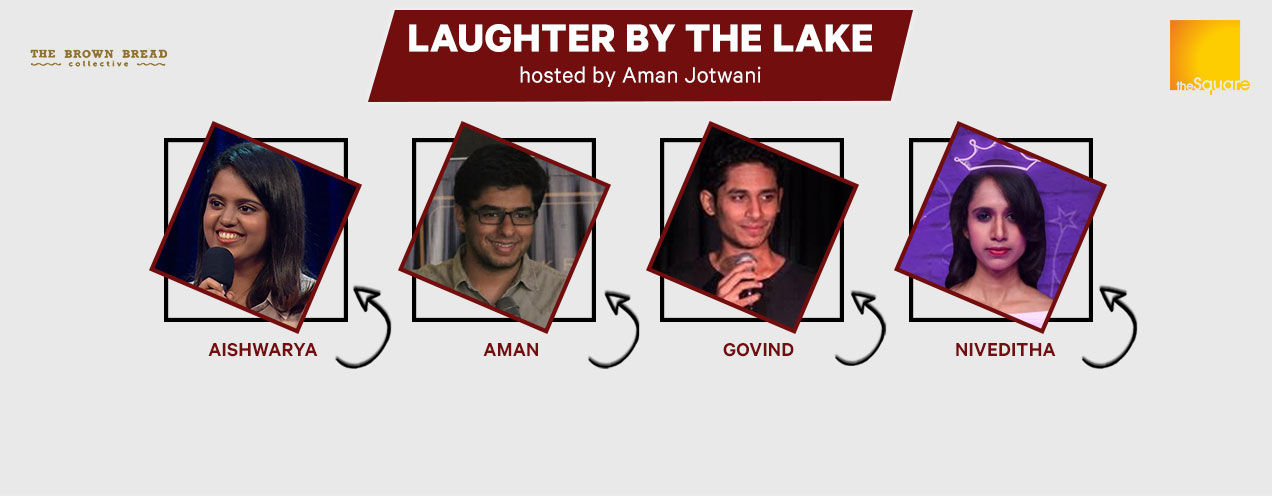 Laughter by the Lake hosted by Aman ft. Rahul