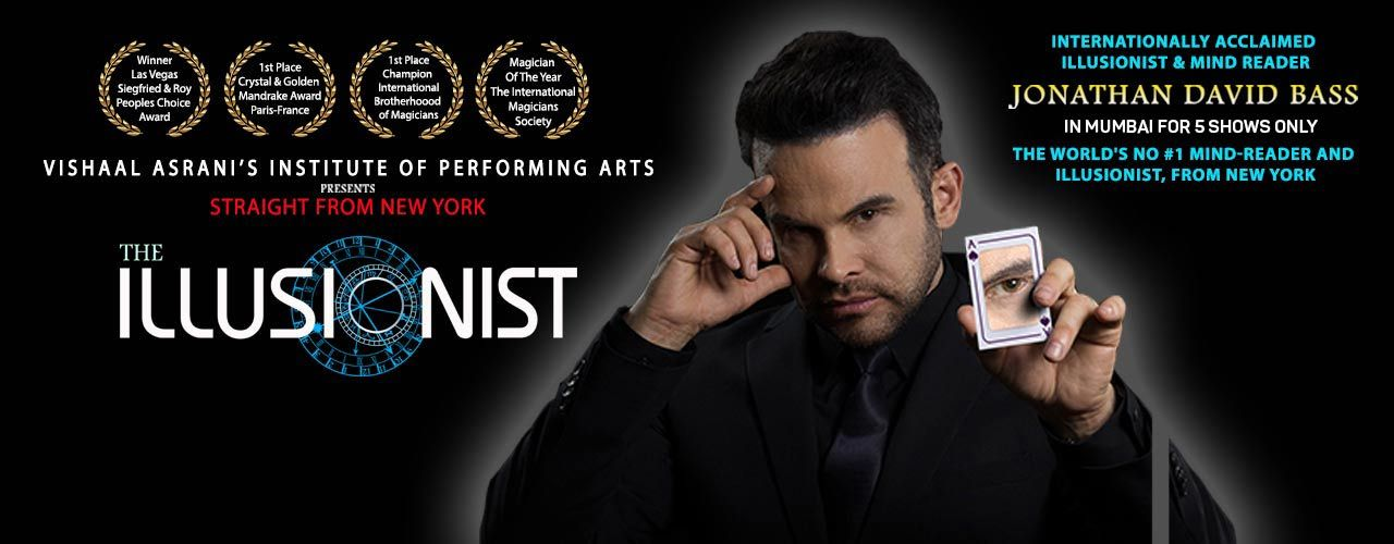 The Illusionist-Straight from New York & Las Vegas